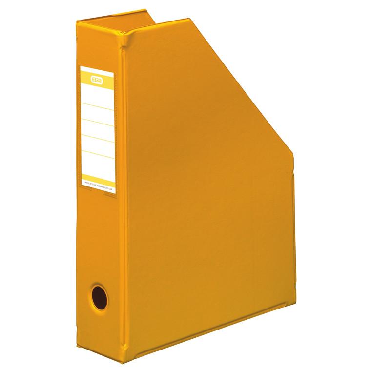 A4 tidsskriftholder ELBA med 65 mm ryg - Gul