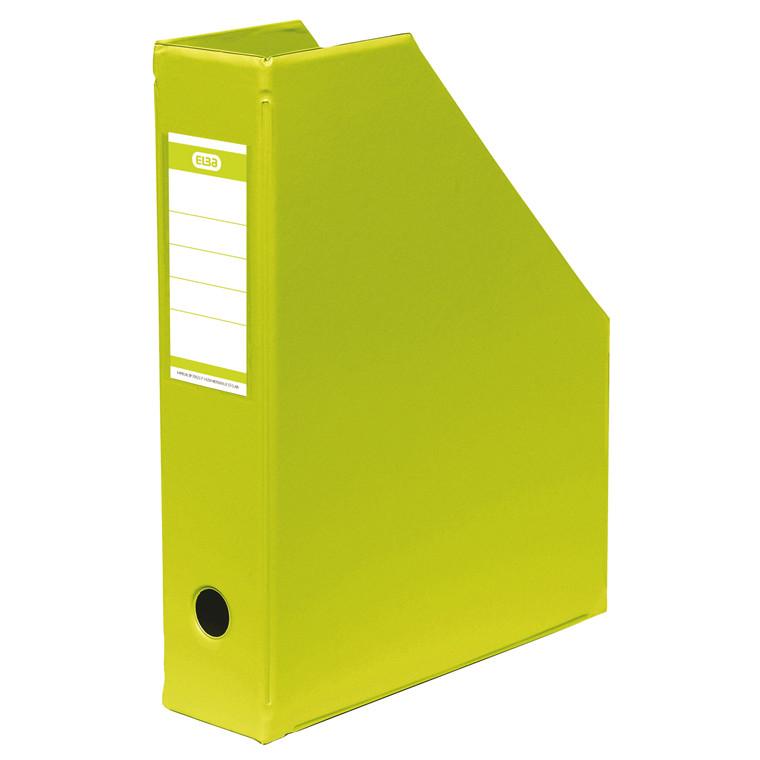 A4 tidsskriftholder ELBA med 65 mm ryg - Lime grøn