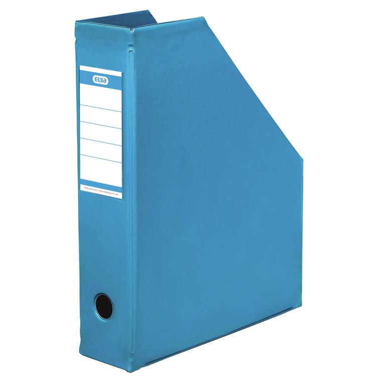 A4 tidsskriftholder ELBA med 65 mm ryg - Lys blå