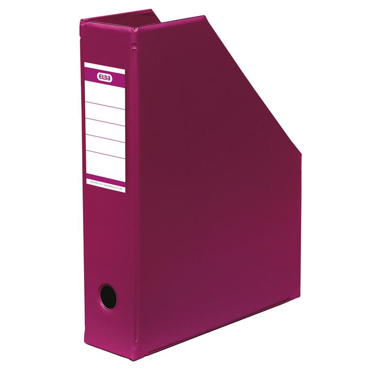 A4 tidsskriftholder ELBA med 65 mm ryg - Pink