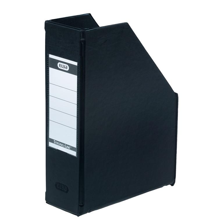 A5 tidsskriftsamler ELBA med 60 mm ryg - Sort