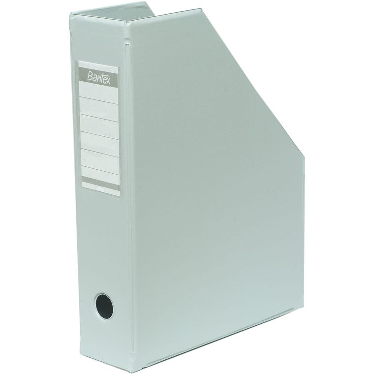 Tidsskriftskassette A4 med 65 mm ryg ELBA - Grå