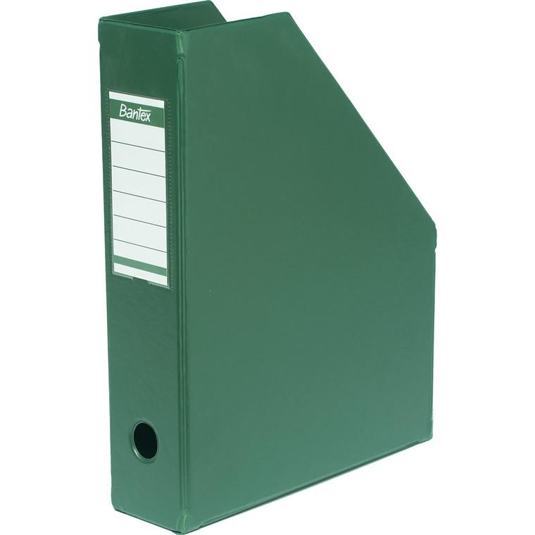 Tidsskriftskassette A4 med 65 mm ryg ELBA - Grøn