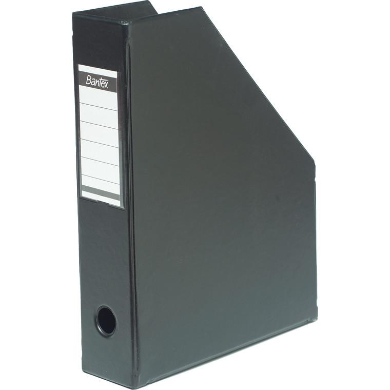 ELBA Tidsskriftskassette A4 med 65 mm ryg - Sort