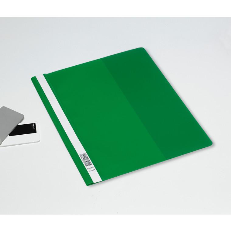 Bantex A4 Maxi tilbudsmappe grøn med indvendig lomme - 100400661