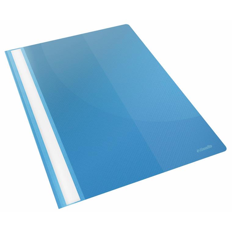 Tilbudsmappe Esselte A4 med indvendig lomme - Blå 28346