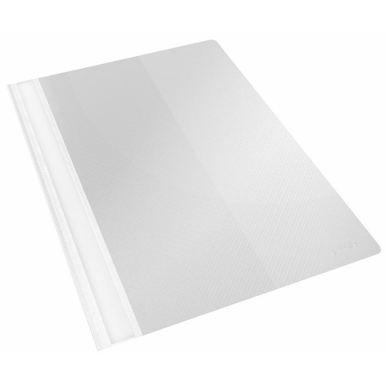 Tilbudsmappe Esselte PP hvid A4 m/lomme 25stk/pak 28345