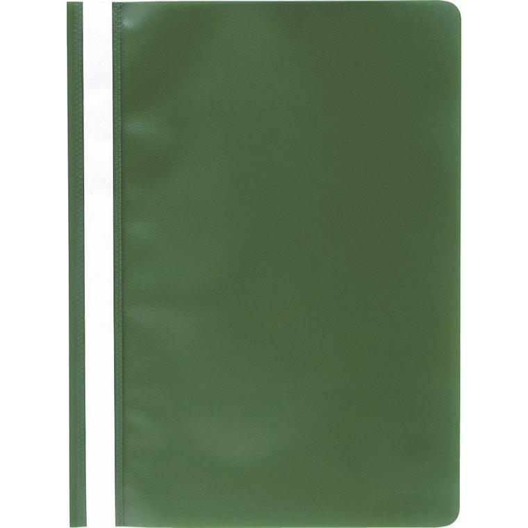 Tilbudsmappe PP niceday grøn A4 u/lomme 25stk/pak 180686