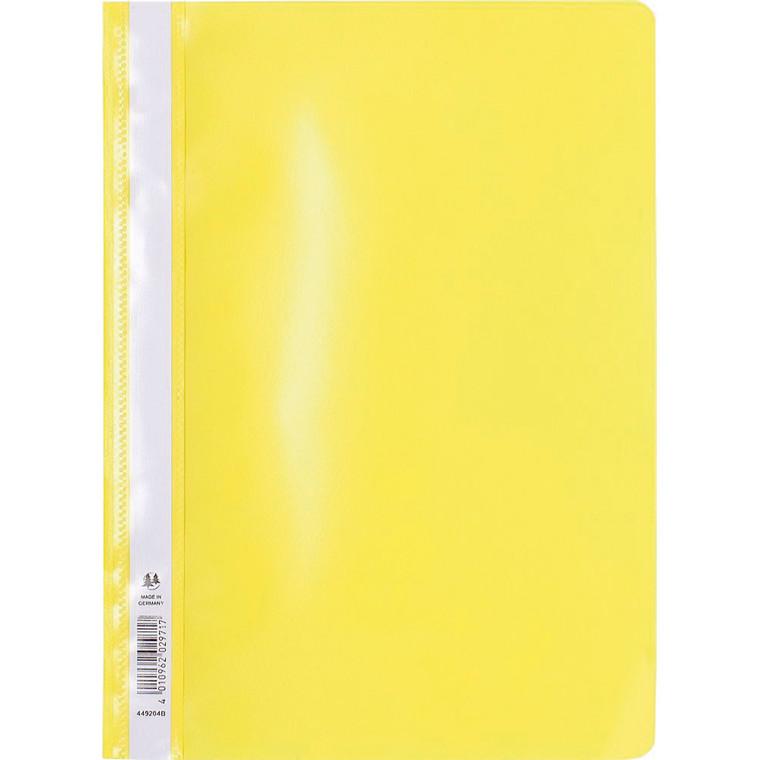 Tilbudsmappe PP niceday gul A4 u/lomme 25stk/pak 180687
