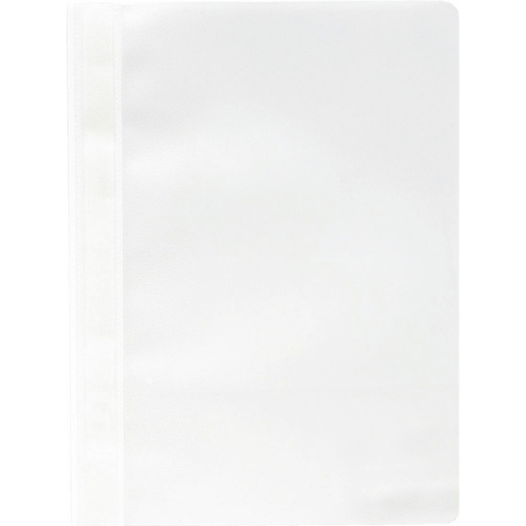 Tilbudsmappe PP niceday hvid A4 u/lomme 25stk/pak 502473