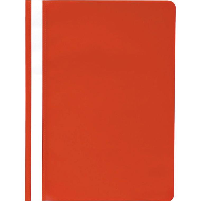 Tilbudsmappe PP niceday rød A4 u/lomme 25stk/pak 180688
