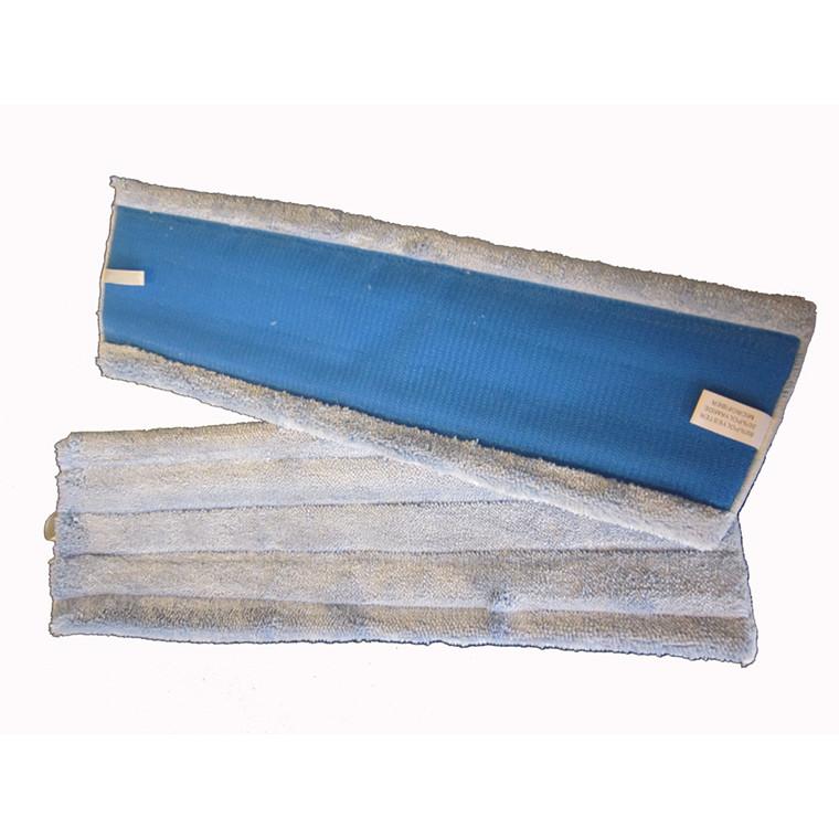 Tørmoppe microfiber 45cm med velcro