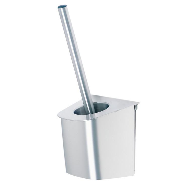 Toiletbørste, 15x15,4cm, stål, rustfrit stål *Denne vare tages ikke retur*