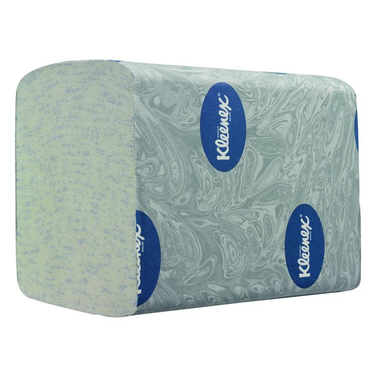 Toiletpapir i ark Kleenex 2-lags bulk pack hvid - 12,50 cm x 18,5 cm