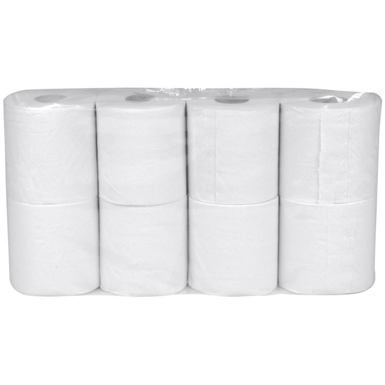Toiletpapir Neutral 2-lags hvid 9,80 cm x 34,70 meter - 248 ark