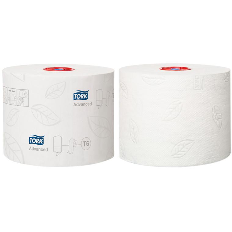 Toiletpapir Tork Advanced 2-lags hvid  9,90 cm | 100 meter