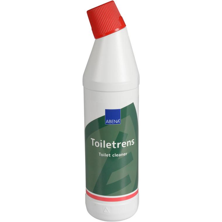 Toiletrens, med farve og uden parfume, stærk surt, 0,75 l