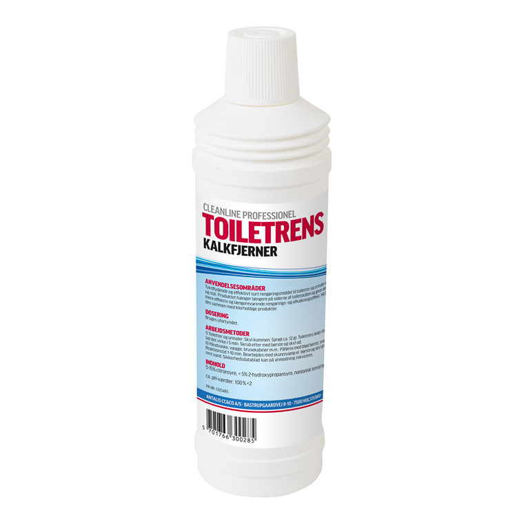 Cleanline Toiletrens Kalkfjerner - 750 ml