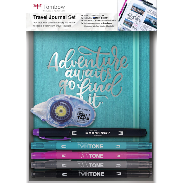 Tombow Travel journal set Tomow