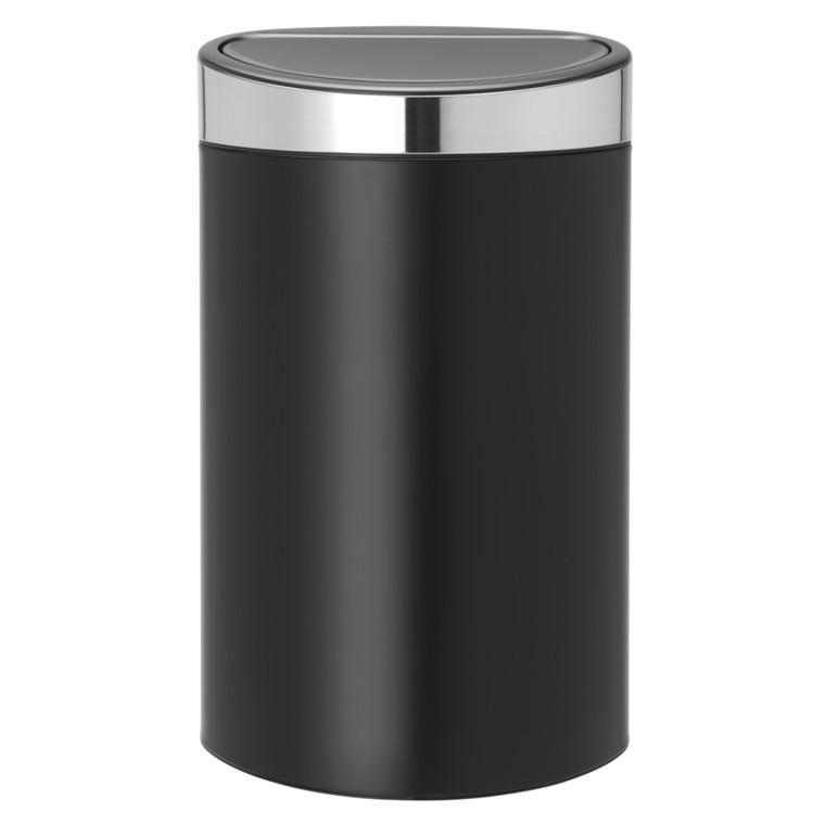 Touch bin, Brabantia, inderspand i plast, stål, 40 l