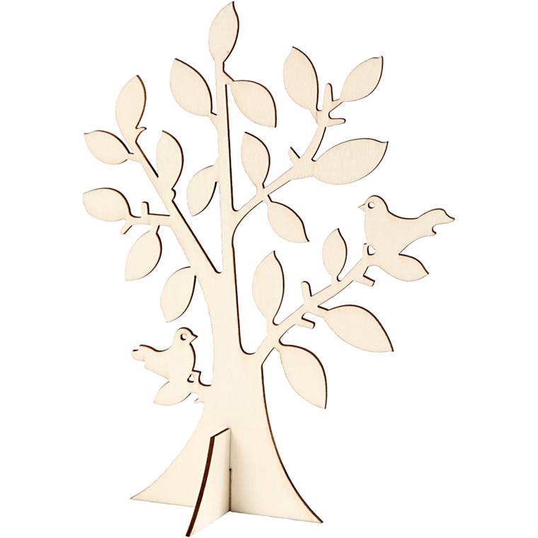 Træ, H: 24 cm, B: 18,4 cm, krydsfiner, 1stk., tykkelse 0,4 cm
