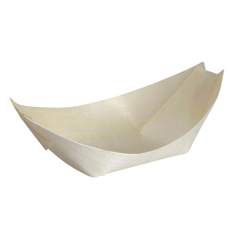 Træbåd, brun, træ, 7x11,50 cm, FSC 100% NC-COC-014610