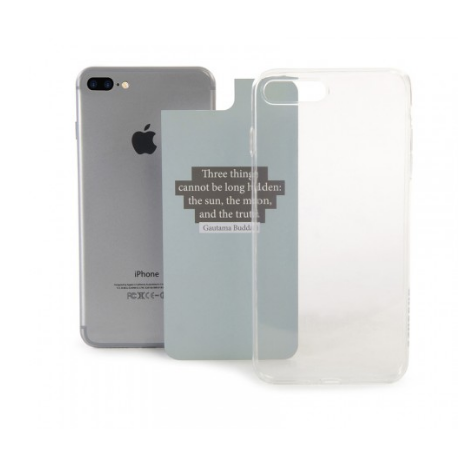Tucano Cover Cambio iPhone 7+ transparent