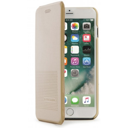 Tucano Cover DUEinUNO iPhone 7+ magnetic gold