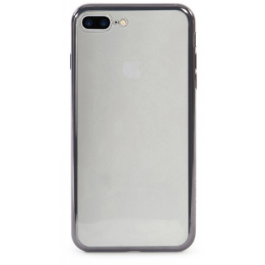 Tucano Cover Elektro Flex iPhone 7+ transp/black