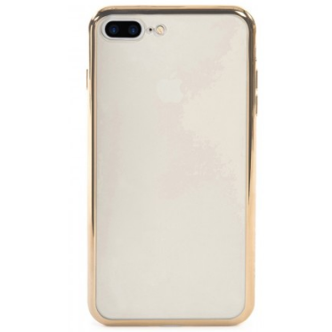 Tucano Cover Elektro Flex iPhone 7+ transp/gold
