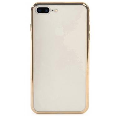 Tucano Cover Elektro Flex iPhone 7+ transp/gold
