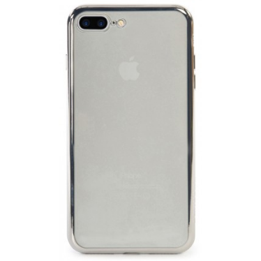 Tucano Cover Elektro Flex iPhone 7+ transp/silver