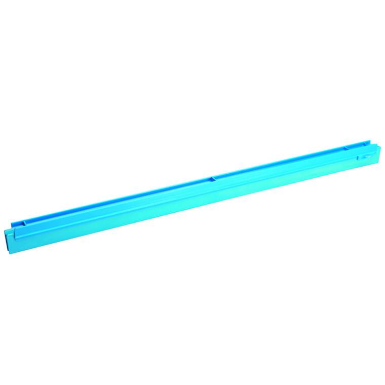 Udskiftningskassette, Vikan Hygiejne, blå, dobbeltblad, 70 cm