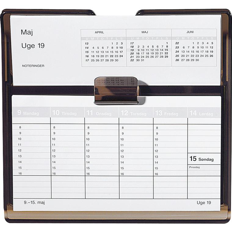 Uge bordkalender refill Flip-a-week 18x10cm 20 1360 00