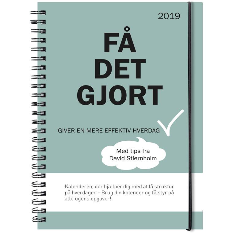 Ugekalender Mayland 2019 A5 Få det gjort hård PP med illu. 15 x 21 cm tværformat - 19 2273 00