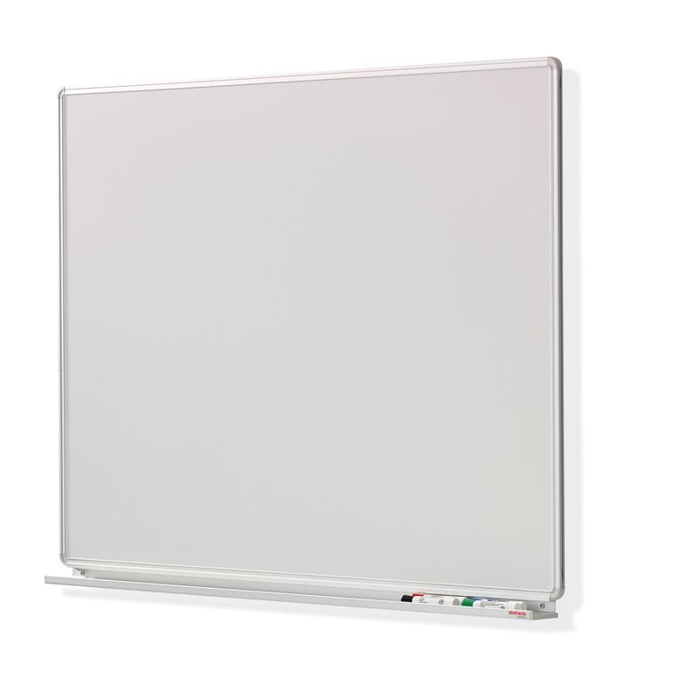Uniti Whiteboard tavle - 122 x 125 cm med pennehylde