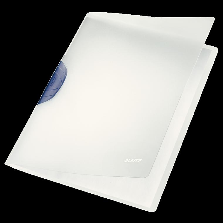 Universalmappe A4 Leitz Color Clip mat transparent medgrå klemryg - 41740089