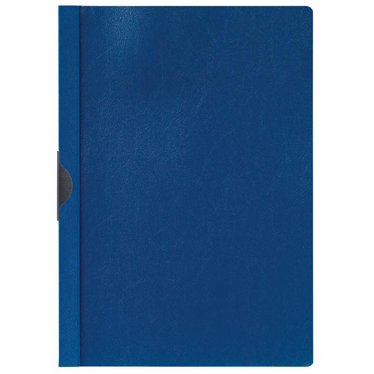 Universalmappe niceday blå A4 m/metalskinne 3mm 180659