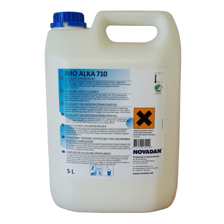 Novadan Imo Alka 710 Alkalisk Grundrens - 5 liter