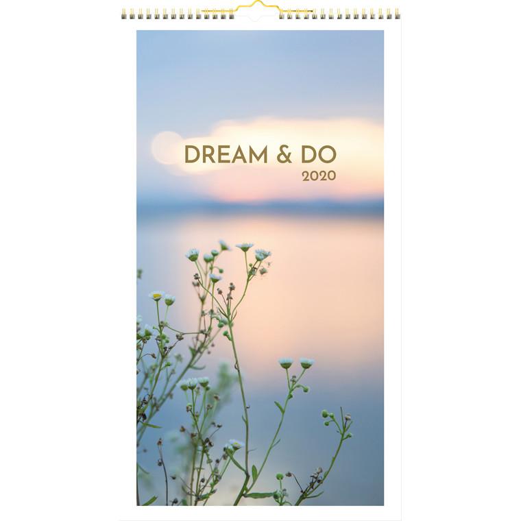 Vægkalender Dream&do 25x45cm 20 0665 30