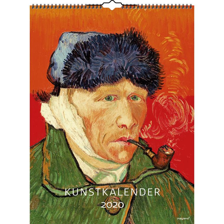 Vægkalender Kunst 29,5x39cm 20 0661 50