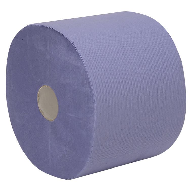Værkstedsrulle, Care-Ness Classic, 2-lags, blå, 22 cm x 360 m