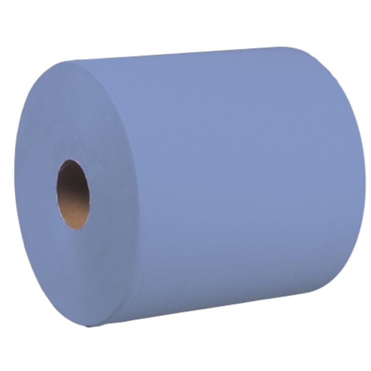 Værkstedsrulle, Neutral, 1-lags, blå, 29 cm x 800 m