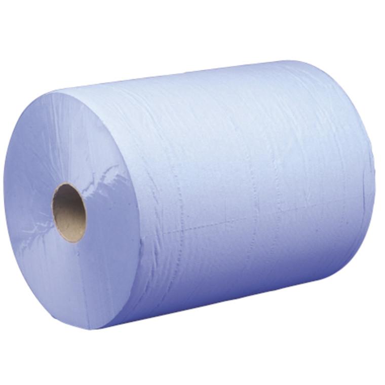 Værkstedsrulle, Neutral, 2-lags, blå, 25 cm x 555 m FSC-RECYCLED NC-COC-014610