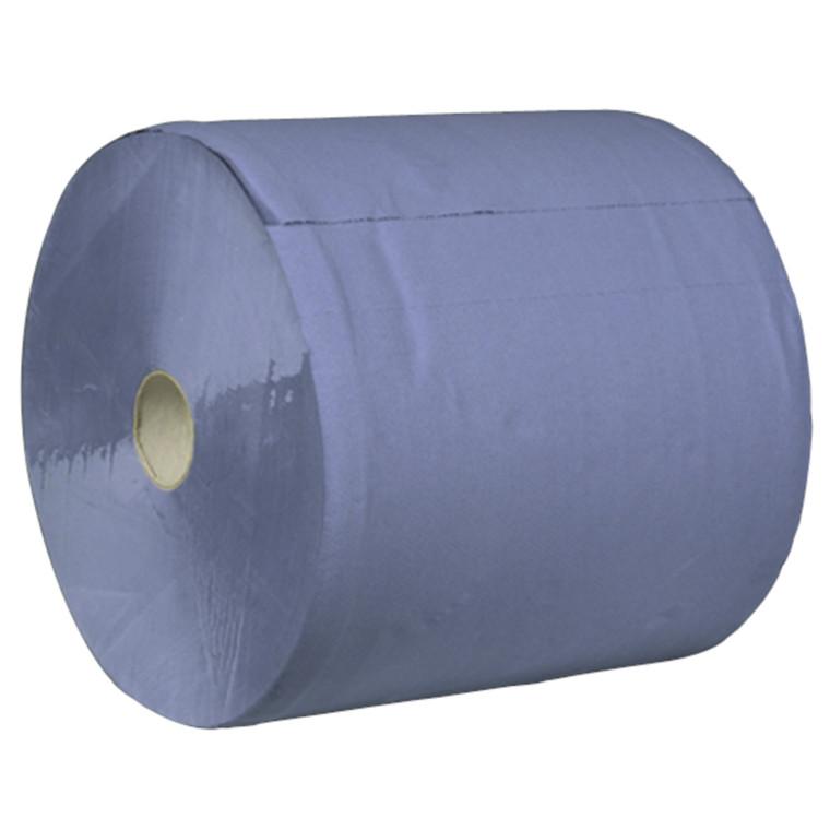 Værkstedsrulle, Neutral, 3-lags, blå, 36 cm x 360 m