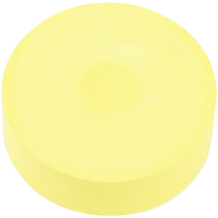Vandfarve, dia. 44 mm, gul, refill, 6stk.