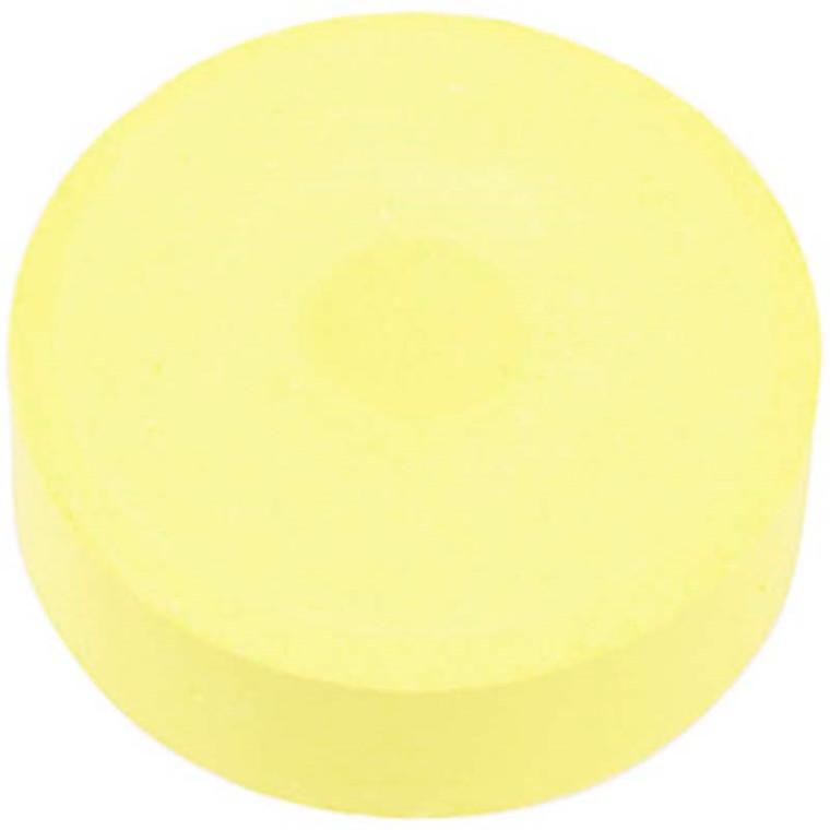 Vandfarve, dia. 57 mm, gul, refill, 6stk.