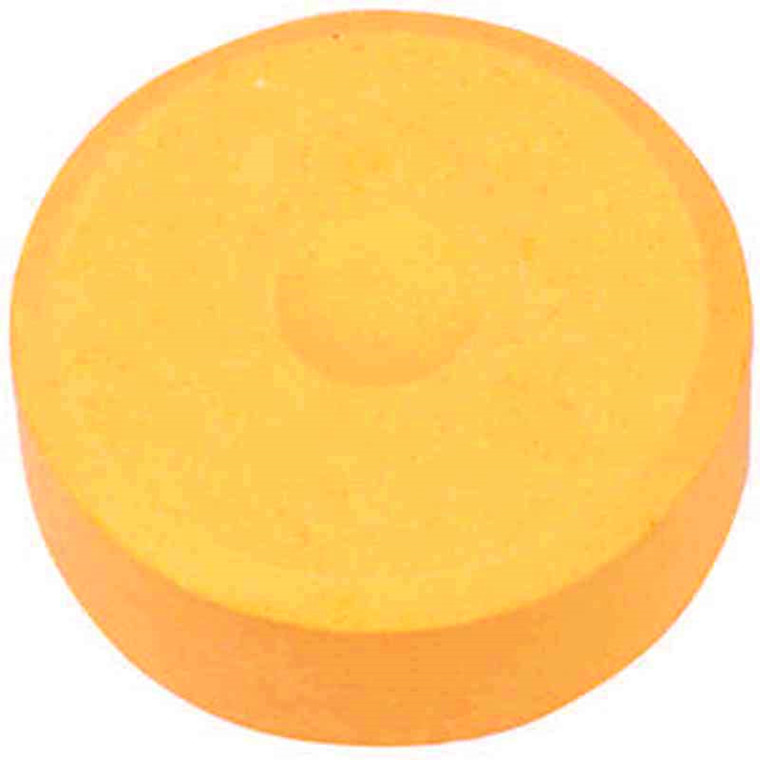 Vandfarve, dia. 57 mm, lys orange, refill, 6stk.