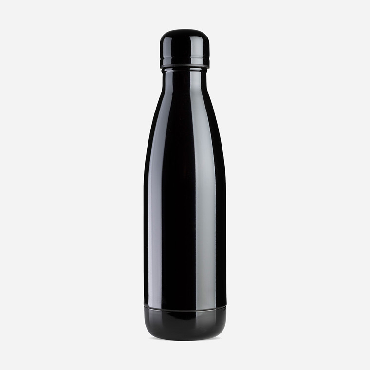 Vandflaske Jobout aqua Ø7x25,5cm 500ml black