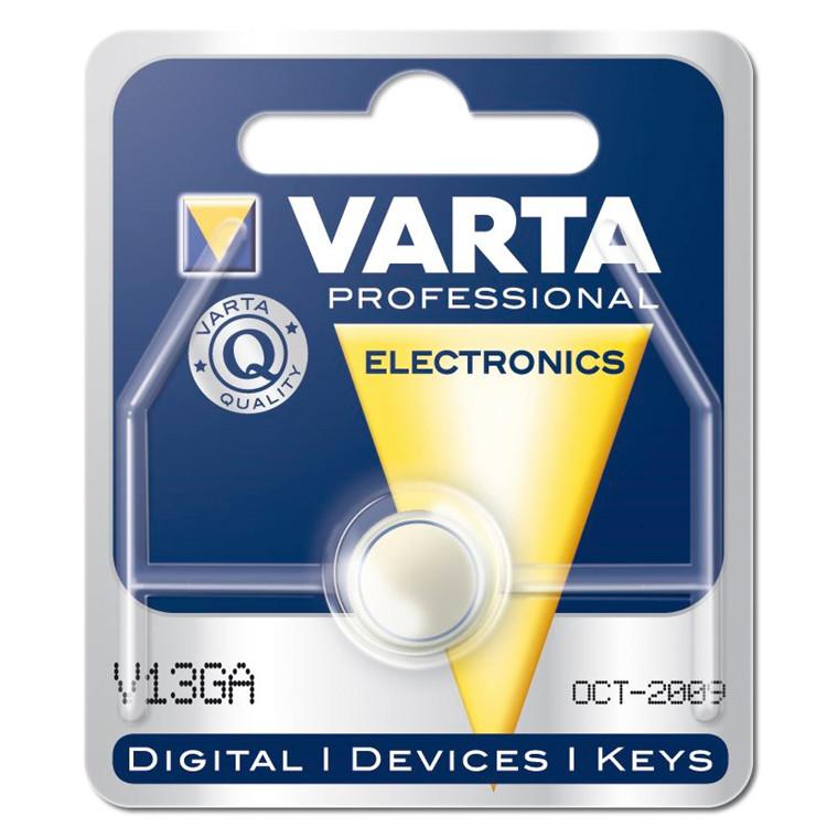 Varta Batteri Electronic - LR44 V13 GA 1,5V 125mAh